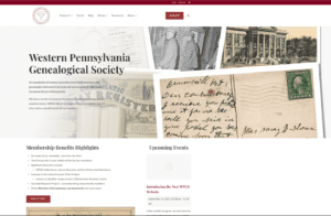 Image of WPGS home page